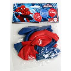 10 ballons en latex - Spiderman