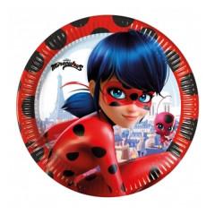 Assiettes miraculous ladybug
