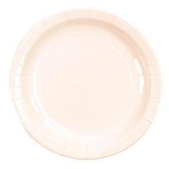 x10 assiette blanc laqué