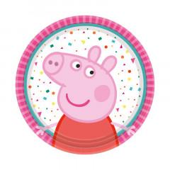 Assiettes anniversaire Peppa Pig