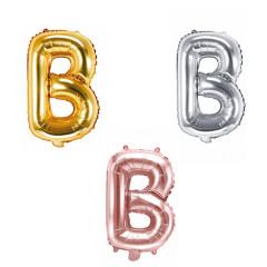 Ballon lettre B - 36cm - coloris au choix