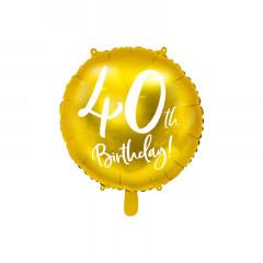 Ballon anniversaire 40 ans