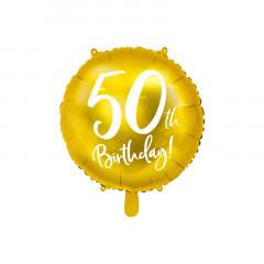 Ballon anniversaire 50ans or