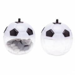 Boîte dragees ballon football noir blanc 5 cm