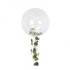 Ballon Geant Transparent Feuillage
