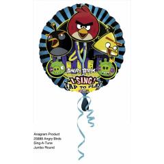 "Ballon hélium ""chantant"" anniversaire Angry Birds"
