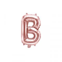 Ballon rose gold lettre B - 36 cm