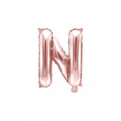 ballon-lettre-rose-gold-N