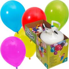 Kit Bouteille helium - 30 ballons