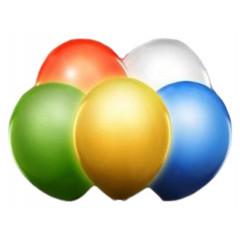 5 ballons led multicolore