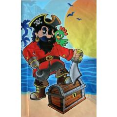 Nappe pirate 120 x 180