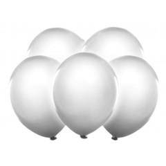 5 ballons led blanc