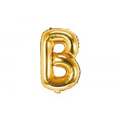 ballon lettre B or