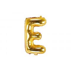 ballon lettre E or