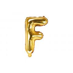 ballon lettre F or