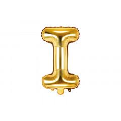 ballon lettre I or