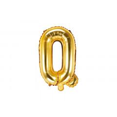 ballon lettre Q or
