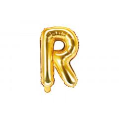 ballon lettre R or