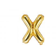 ballon lettre X or