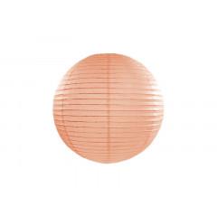 Boule en papier pêcheclair 25 cm