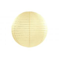 Boule en papier crème 35 cm