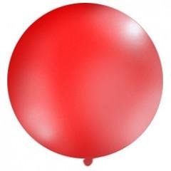 1 ballon 100 cm - rouge