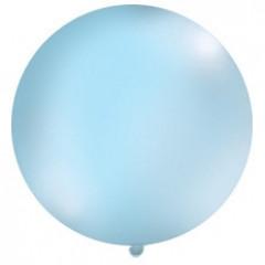 Ballon bleu ciel 1 m