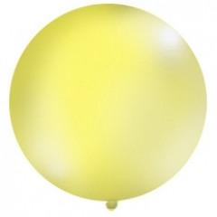 Ballon jaune 1 m