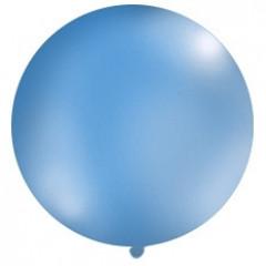 Ballon bleu 1 m