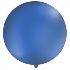 Ballon bleu marine 1 m