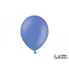 10 ballons 27 cm bleu marine pastel
