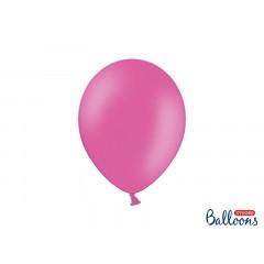 10 ballons roses pastel en latex - 27cm