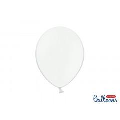 10 ballons 27 cm – blanc pastel