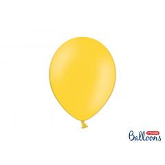 10 ballons 27 cm - jaune  pastel