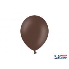10 ballons 27 cm - cacao  pastel