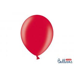 100 ballons 30 cm – rouge métallisé