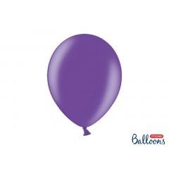 10 ballons 27 cm – violet métallisé
