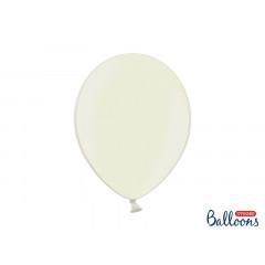 10 ballons 27 cm – ivoire métallisé