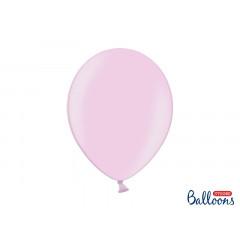 10 ballons 27 cm – rose poudré métallisé
