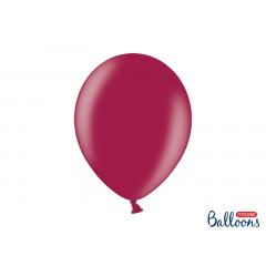 100 ballons 30 cm – bordeaux métallisé