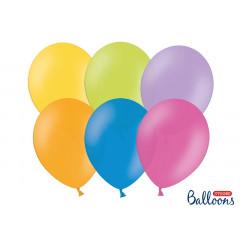 20 ballons 27 cm – pastel multicolore
