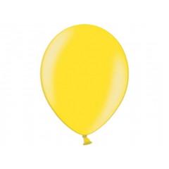 10 ballons 27 cm – jaune citron métallisé