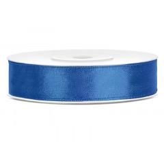 Ruban satin 12 mm - bleu roi