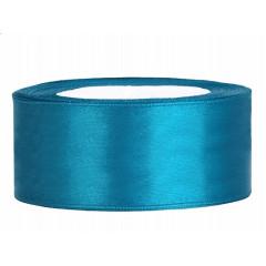 Ruban satin 25 mm - turquoise