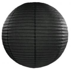 lampion papier noir