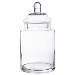 Bonbonnière en verre droite 25 x 13 cm