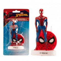 Bougie Spiderman 3D pas chère