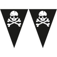 Guirlande pirate tête de mort