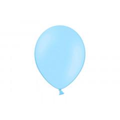 100 ballons bleu ciel pastel - 29 cm
