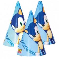Chapeau anniversaire Sonic - x6